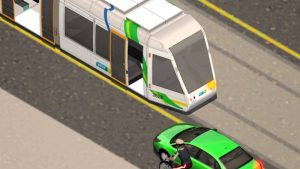 Passing or overtaking trams